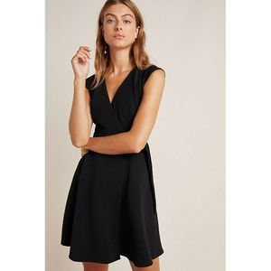 New Anthropologie Ronnie Wrap Dress by Hutch LBD
